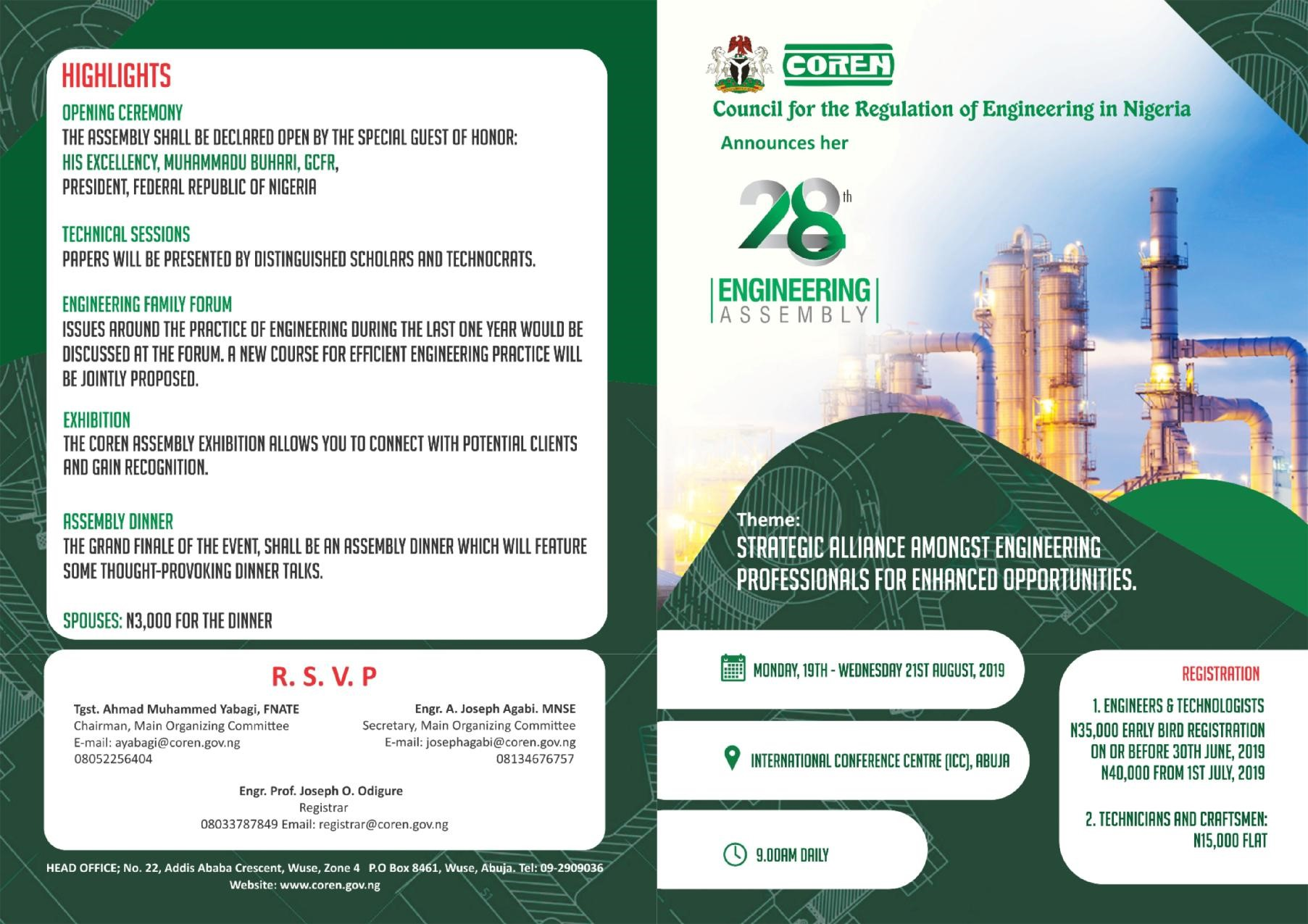 Council for the Regulation of Engineering in Nigeria - HOME